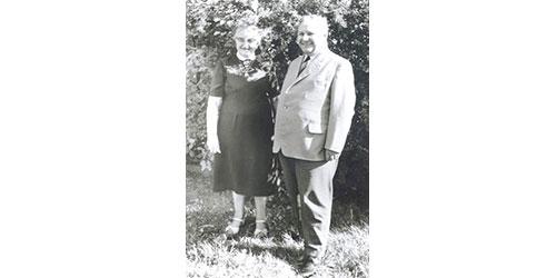 JOSERA Gründer: Joseph und Pauline Erbacher