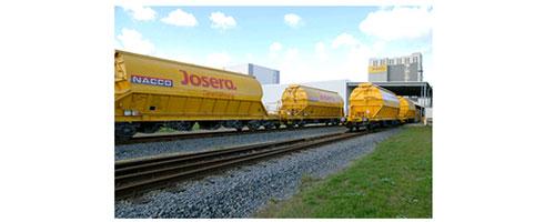 JOSERA Bahnstrecke mit Wagons