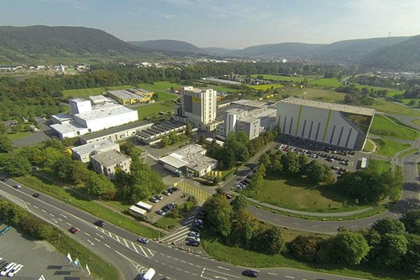 JOSERA Firmenkomplex von oben