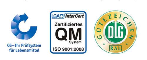 2002 – Certification DLG-Plus et QS