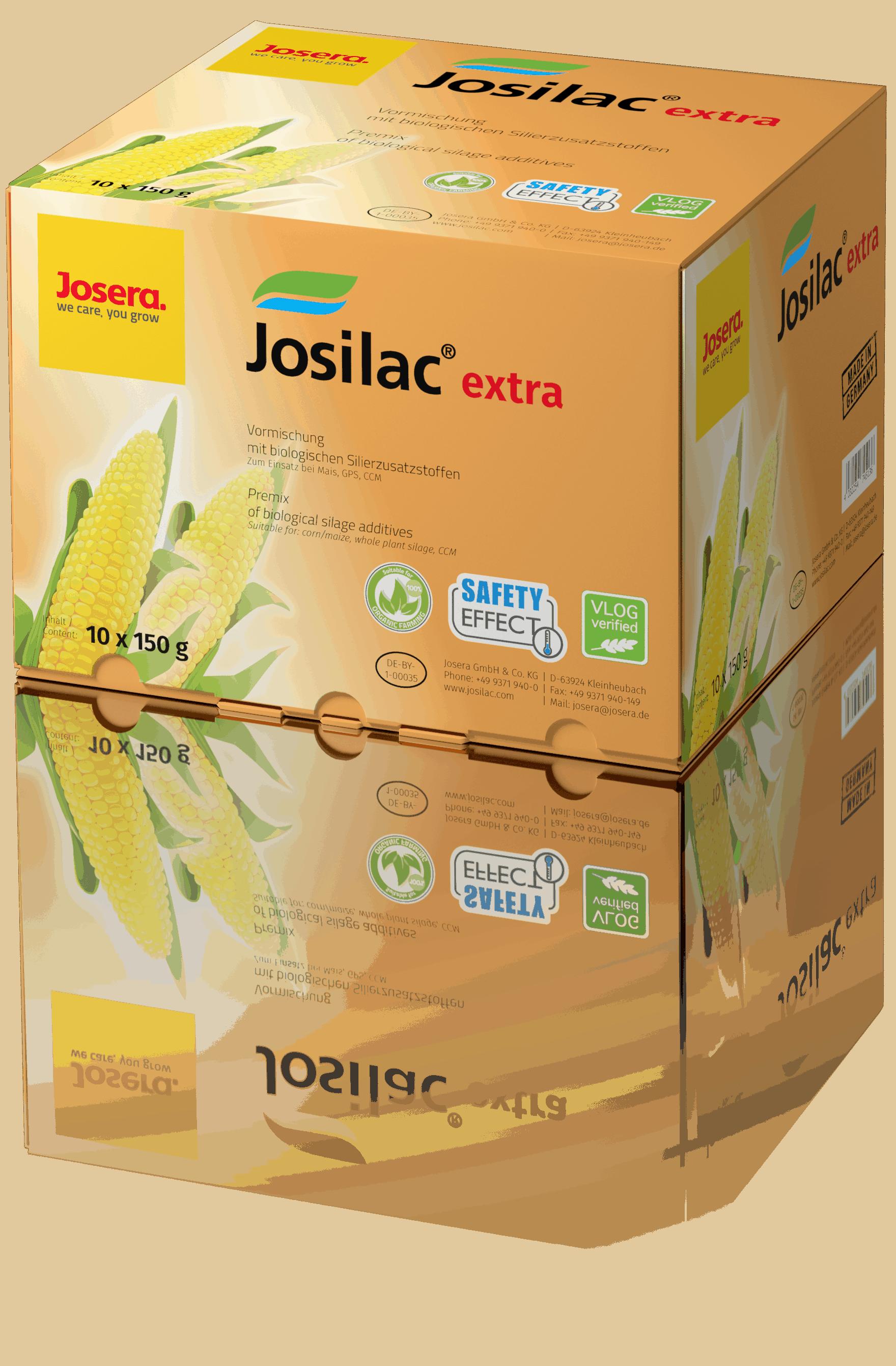 josilac extra, conservateur d'ensilage, carton