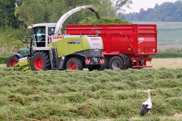 Pour un ensilage d'herbe de qualité optimale